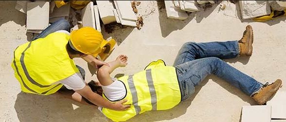 judgement summary - workers compensation, slip on construction site